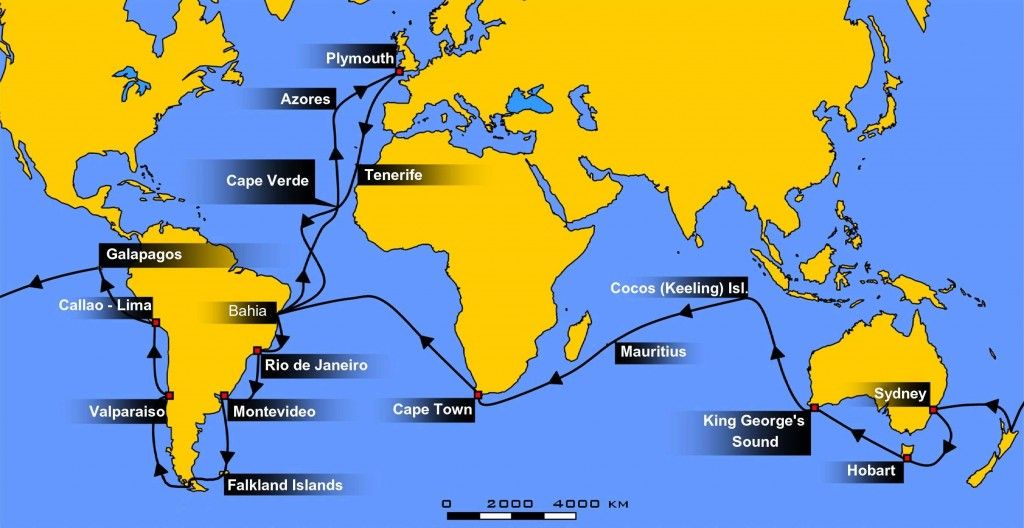 Darwin Journey 5 Year Long Hms Beagle Ecuador Travel Beagle