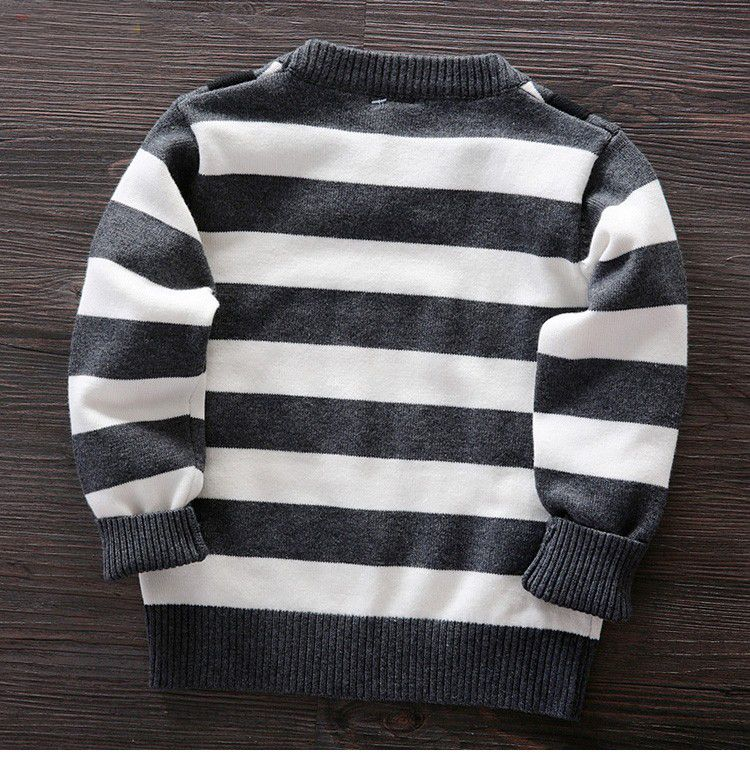2017 autumn winter boys cotton stripe coat pullovers baby boys children's sweater baby boy clothes kids clothes #children'ssweaters