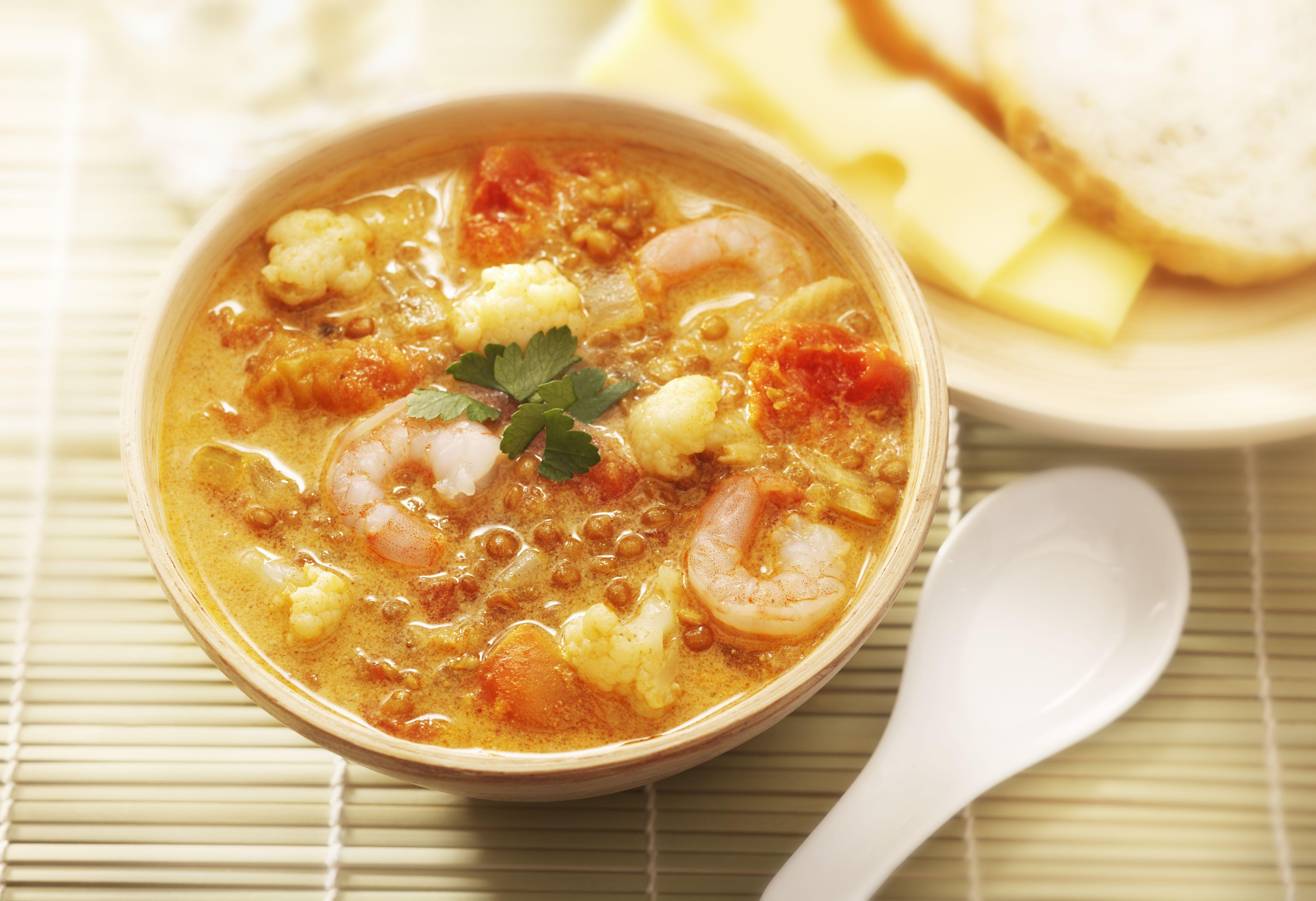 Soupe-repas aux trois conserves #ModeDeVieCie #recette #légumineuses