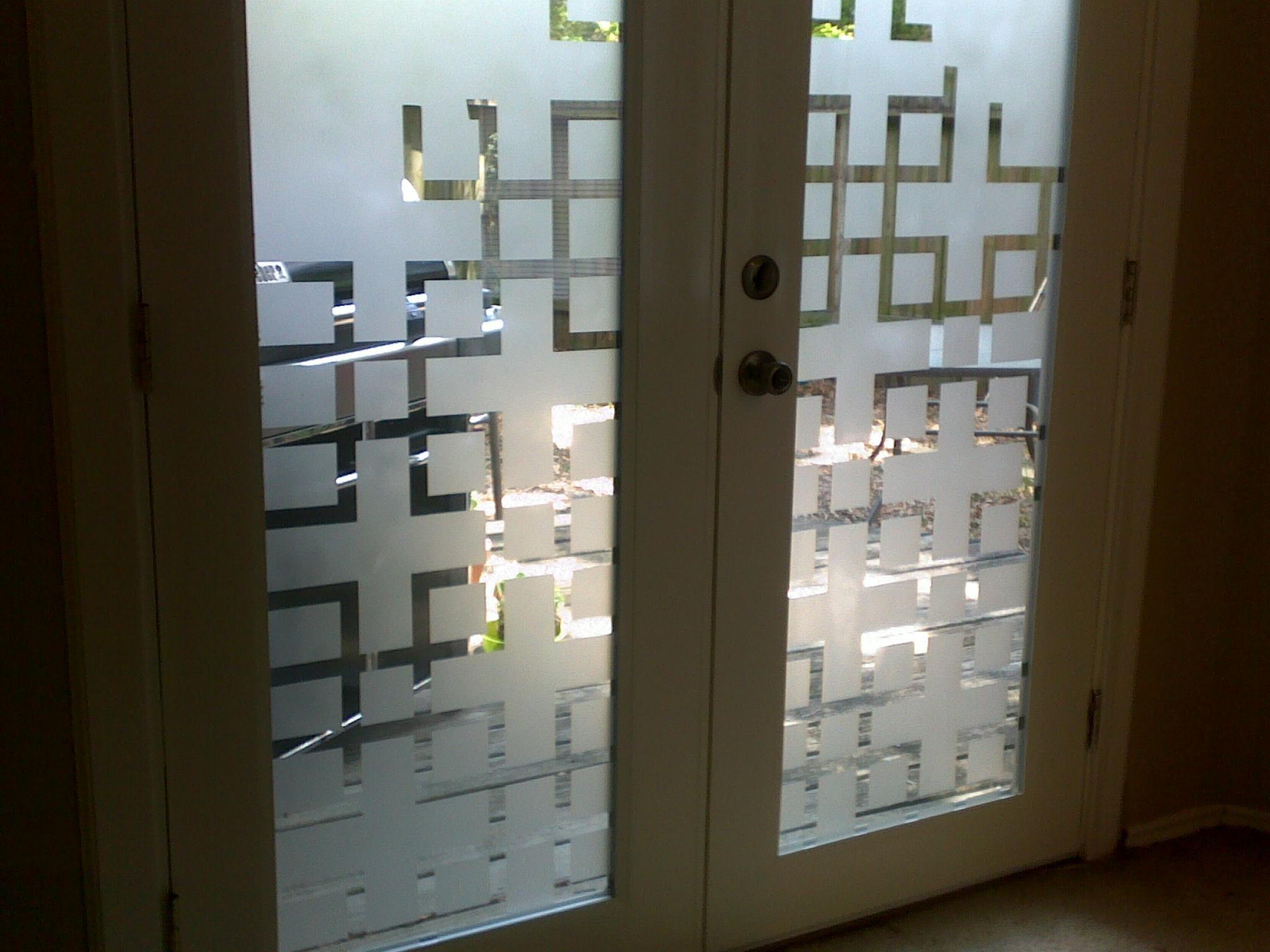 Window Frosting Diy