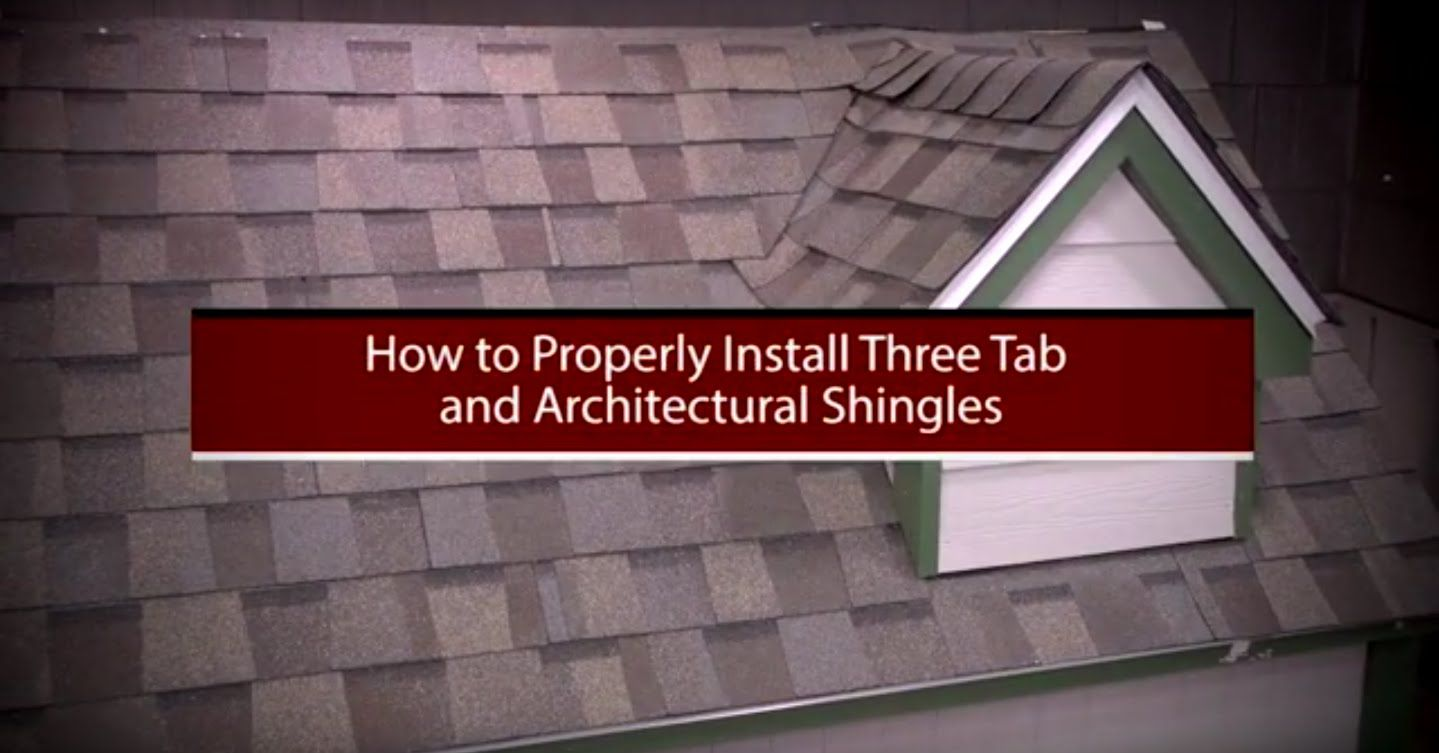 How to Install Asphalt Shingles by