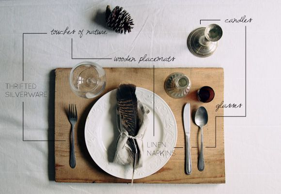 Thanksgiving Table Setting Inspiration | Table setting inspiration ...
