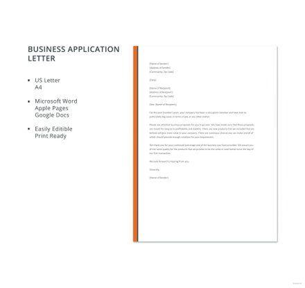 Letter Format Word Business Application Letter Format  Xx  Pinterest  Word Doc .