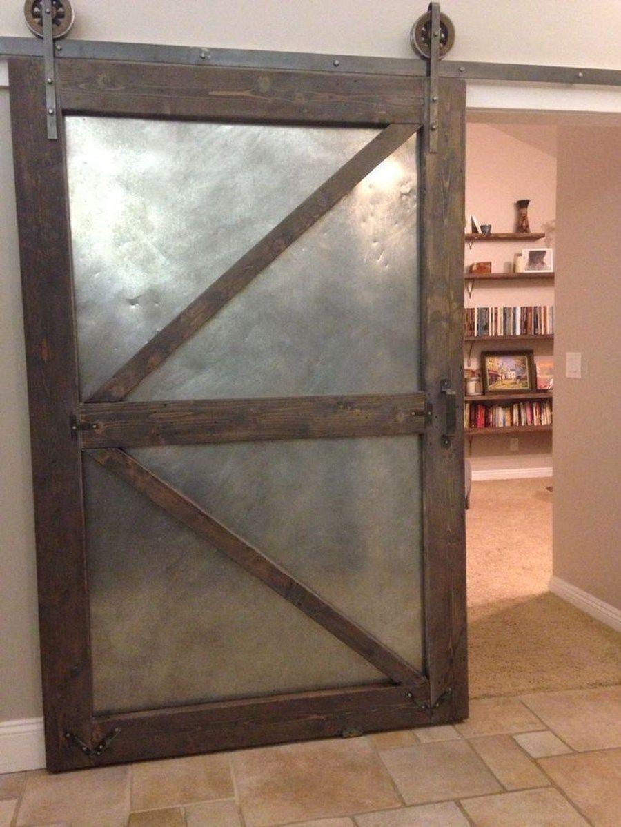 Inspiring Sliding Barn Door Ideas 14 Homyhomee Barn Doors Sliding Interior Barn Doors Barn Door