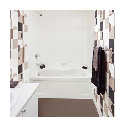 Mirolin Ps6031l Prescott Oval In Rectangle Skirted Bathtub