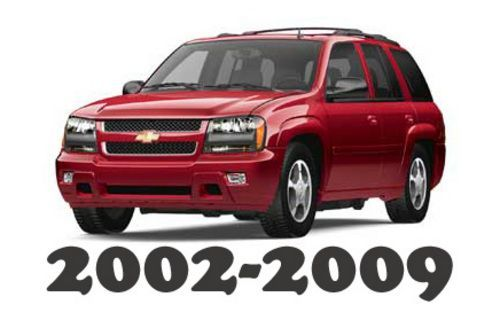free 2002 2009 chevrolet trailblazer service repair workshop manual rh pinterest com 2007 trailblazer manual pdf 2008 trailblazer service manual