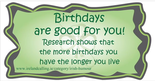 Irish Birthday Wish With Images Irish Birthday Quotes Irish Funny