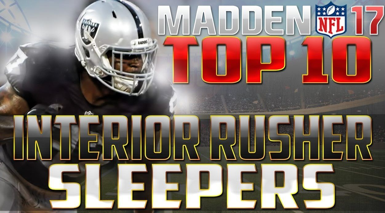 Madden 17 CFM Tips Top 10 Sleeper Interior Rushers