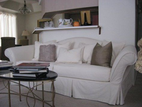 Camelback sofa slipcovers | Sofa-A.com | Decor | Sofa styling ...