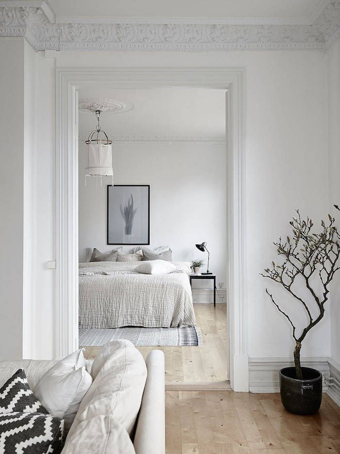 Swedish Bedrooms interiors | light filled swedish apartment | bedrooms | pinterest
