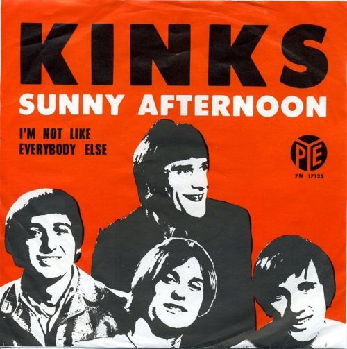 The Kinks 45 Of Sunny Afternoon Music Album Covers