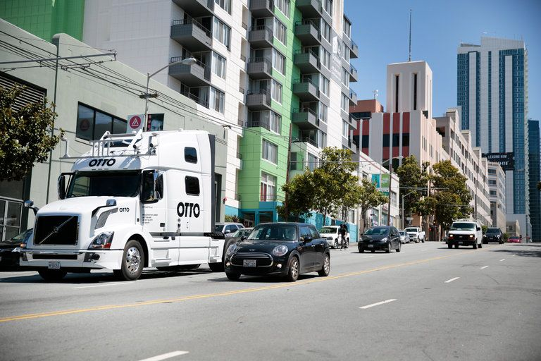 SelfDriving Truck's First Mission A 120Mile Beer Run