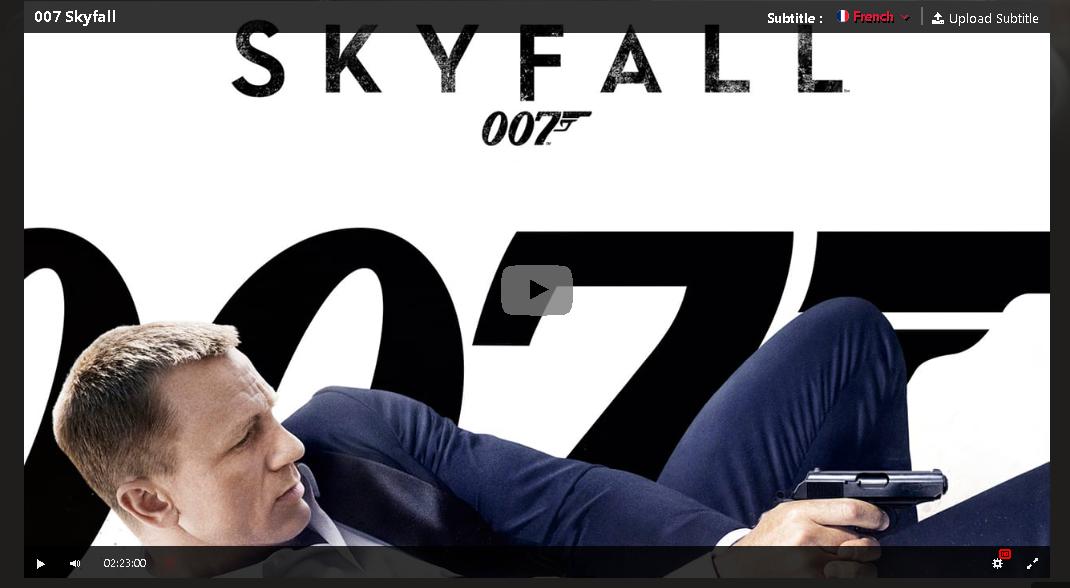 Hd 007 Skyfall 2012 Film Complet En Francais