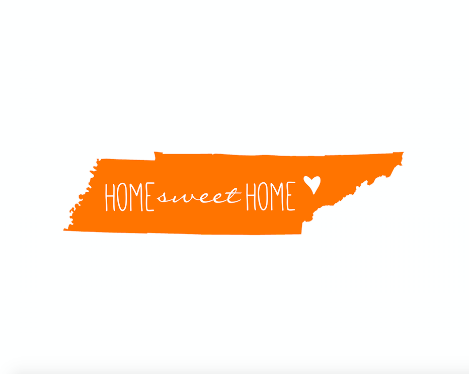 Home Sweet Home Tennessee Printable Sweet Home Tennessee Home