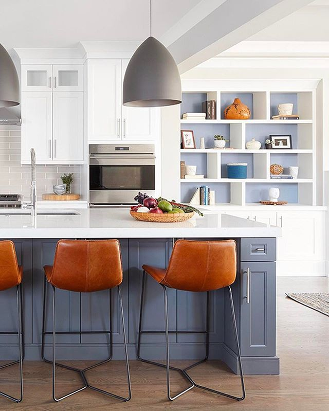 20 Best Custom White Kitchens with Wood Islands on a Budget
