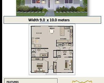 Awesome 785 Sq Foot | 73 M2 | Two Bedroom | Granny Flat 2 Bed | Two Bedroom Granny  Flat | Modern Granny Flat | House Plans Granny Flat | Plans