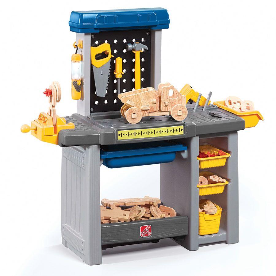 72215323e93c Just Like Home Workshop Handyman Workbench Playset