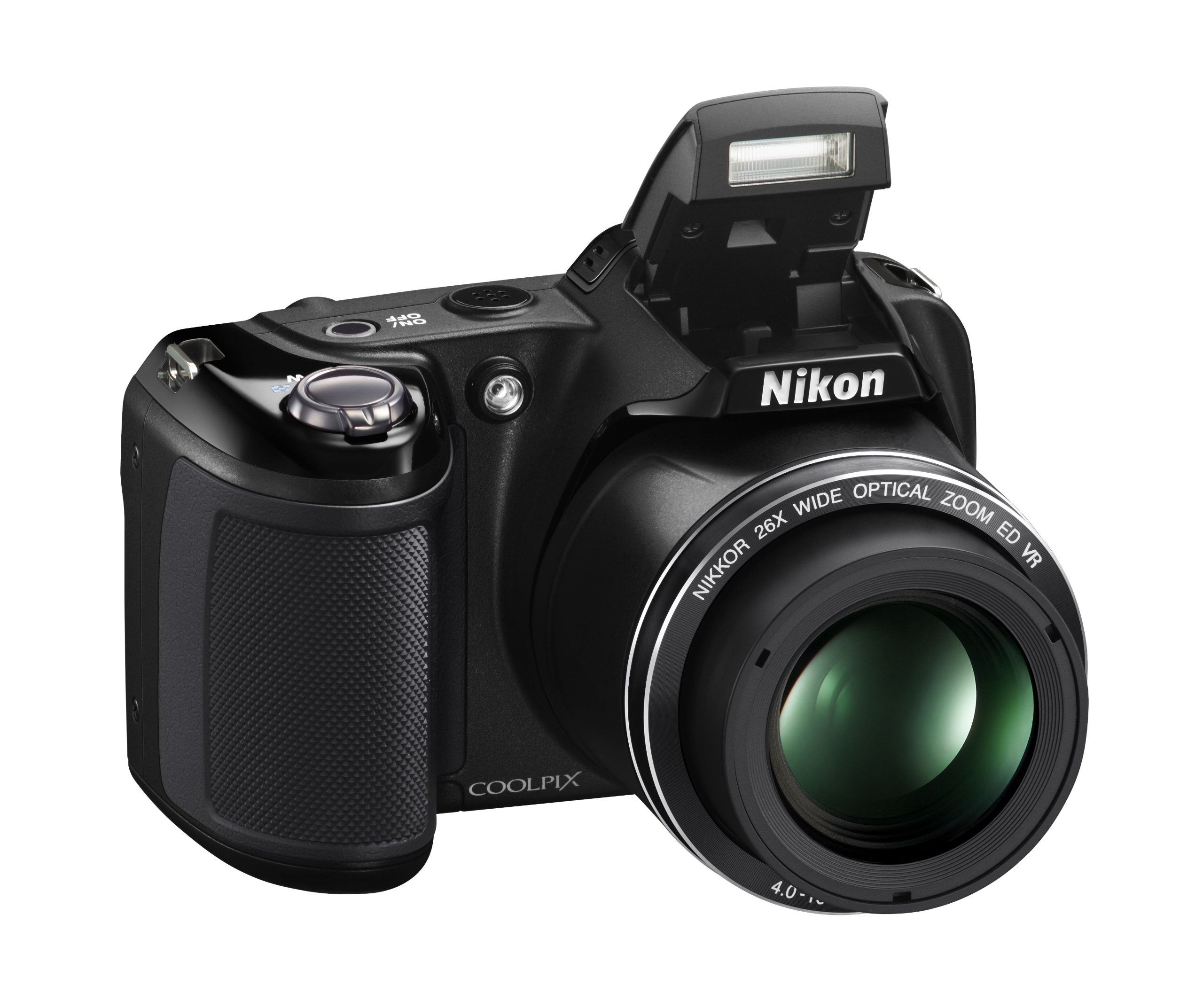 Amazon.com : Nikon Coolpix L330 Digital Camera (Black) : Camera ...