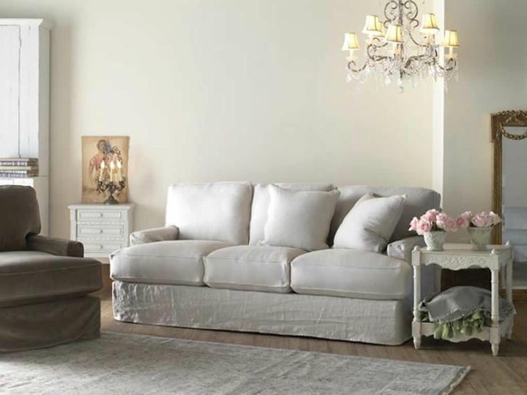 Shabby chic style: inspiring ideas for the living room   Shabby chic ...