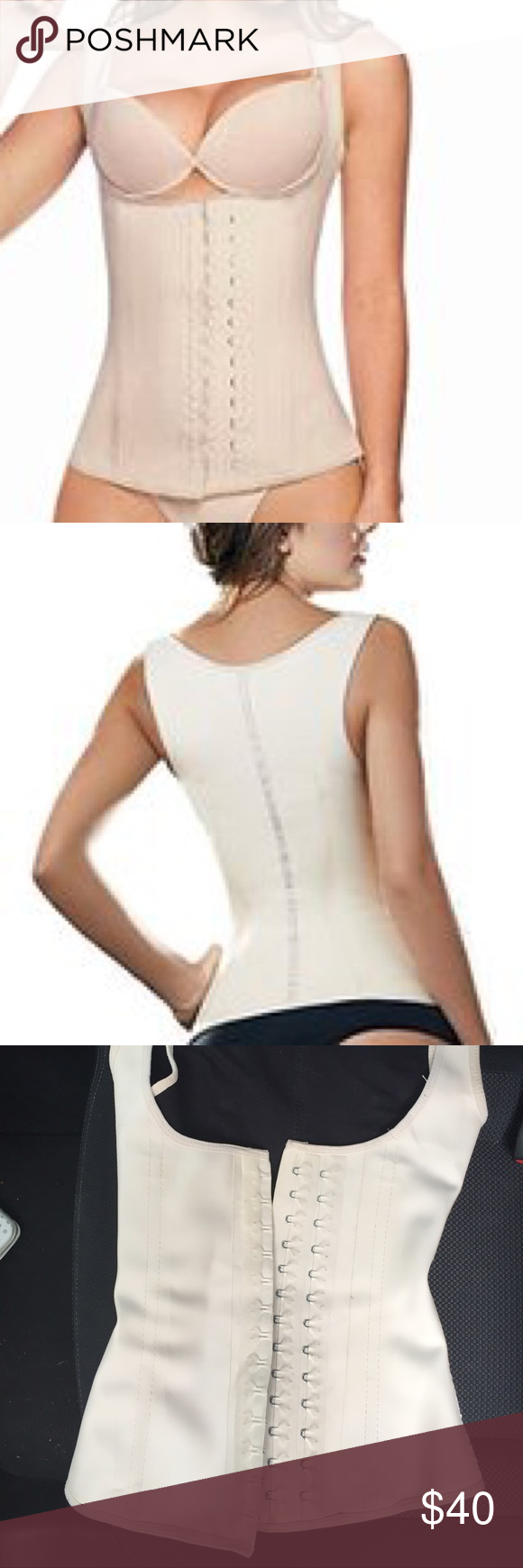 dd65832266 Ann Cherry Women s Latex Waist Trainer - XS Ann Cherry Women s Latex Waist  Trainer Cincher Faja Girdle Full Vest Body Shaper - Used in good condition  ...