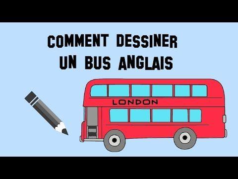 Comment Dessiner Un Bus Anglais Youtube Bus Anglais