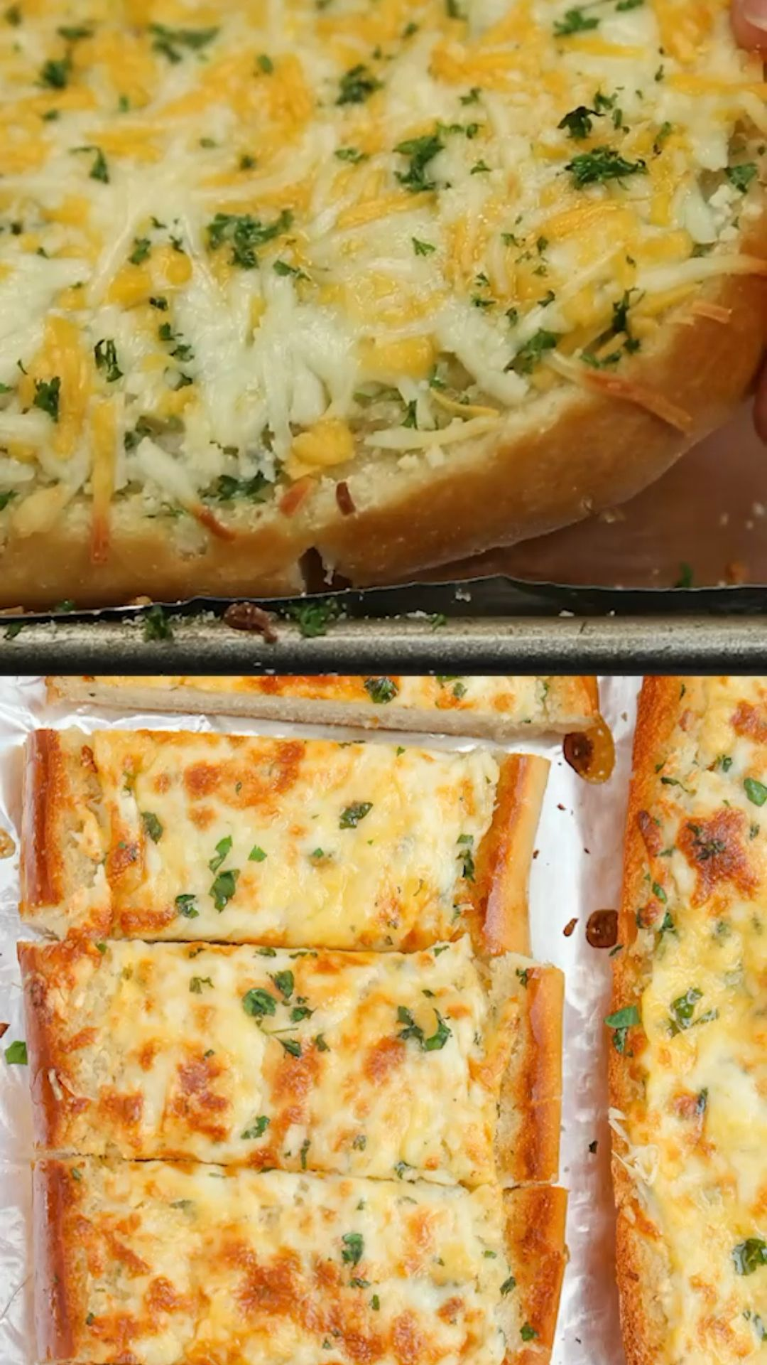 Cheesy Garlic Bread.