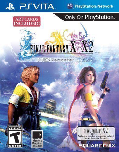 Final Fantasy X X 2 Hd Remaster Playstation Vita By Square Enix