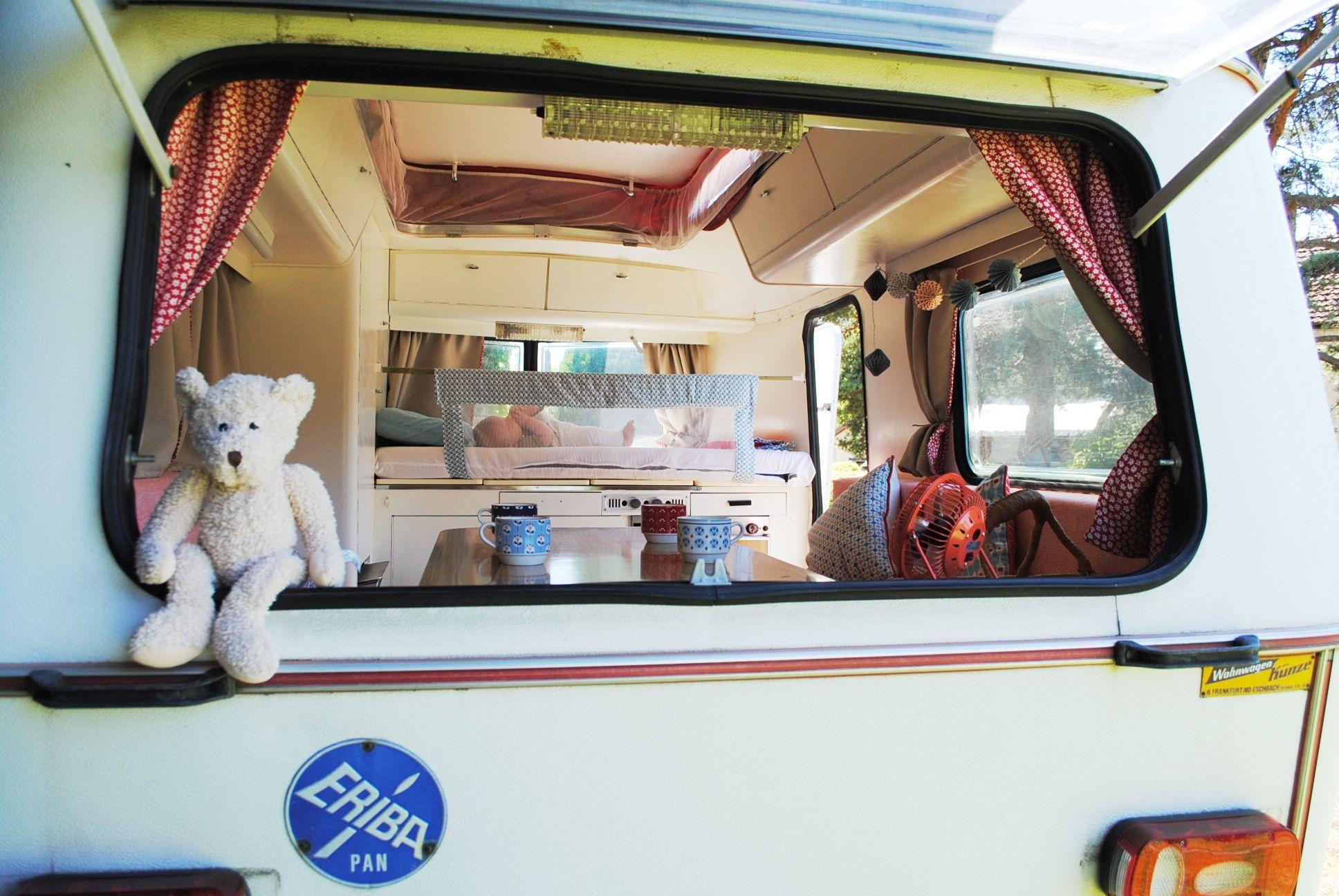 relooking caravane eriba pan 77 caravane vintage relook e pinterest relooking caravane. Black Bedroom Furniture Sets. Home Design Ideas