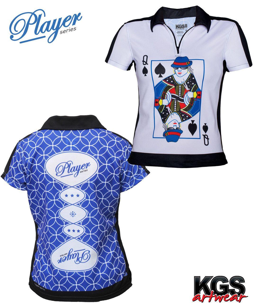 KGS Artwear Store Player Queen of Spades Women's
