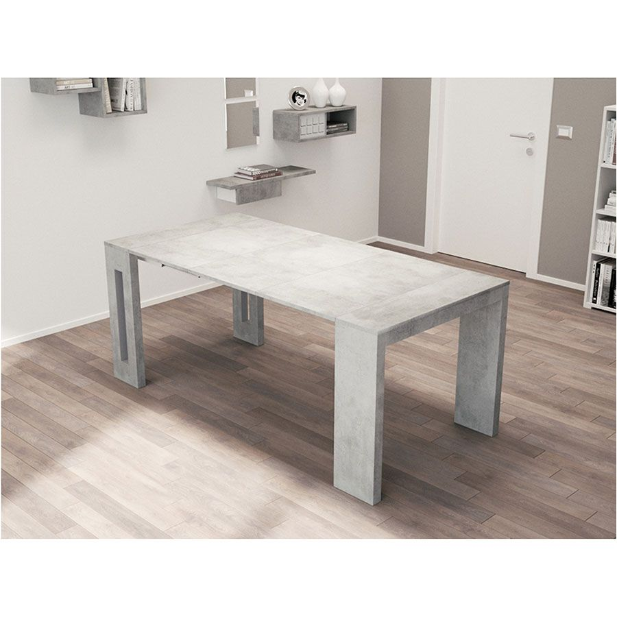 estuary convertible console dining table gray house table convertible table dining table. Black Bedroom Furniture Sets. Home Design Ideas