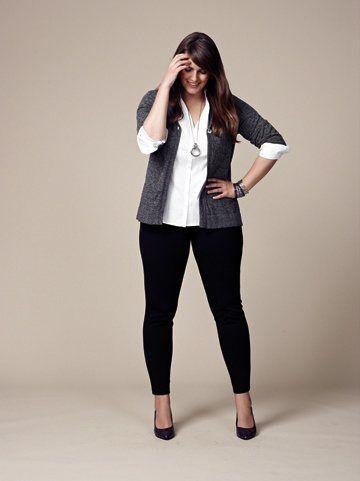 17 Elegant Plus Size Workwear Outfits