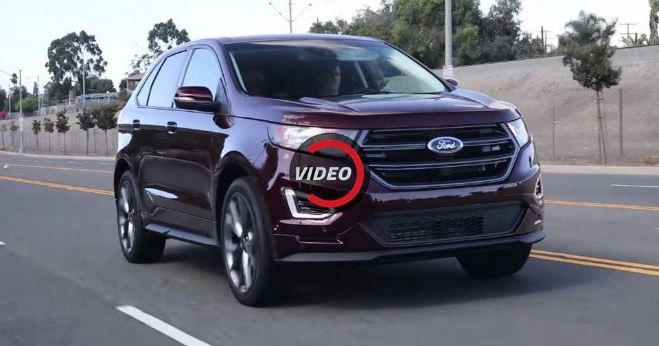 Should Ford\'s Edge Be In Your Crossover Shopping List | Ford edge ...
