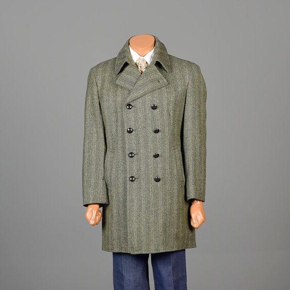1970s mens coat, winter coat, Tweed coat, Mens style, mens fashion, vintage menswear, vintage mens style, vintage fashion
