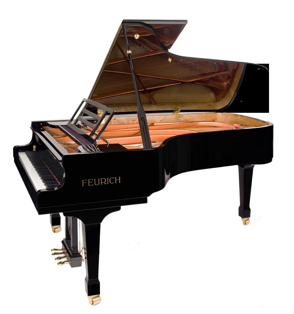 Piano Transparent Image