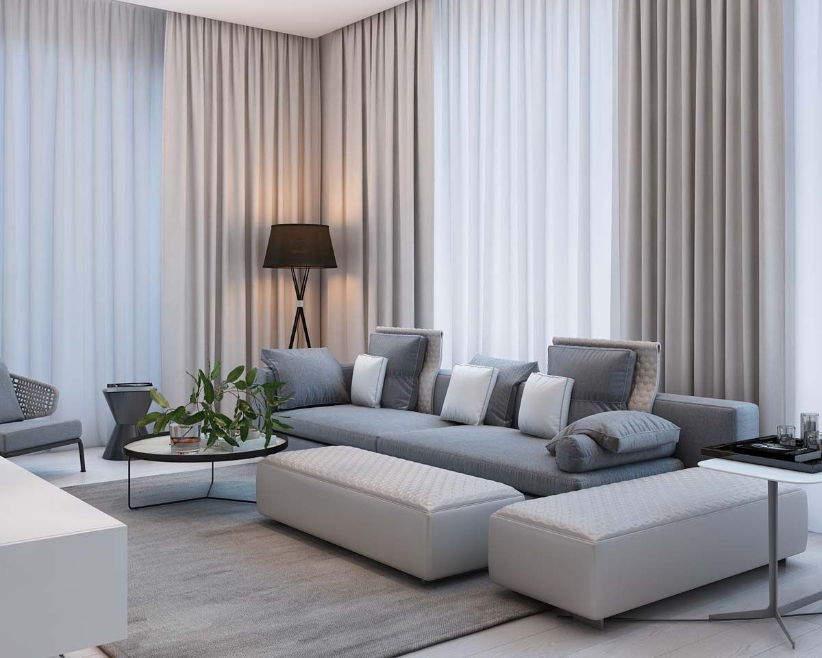 Wohnzimmer Modern Pastel Simple Modern Apartment With Pastel Colors Looks So Cozy