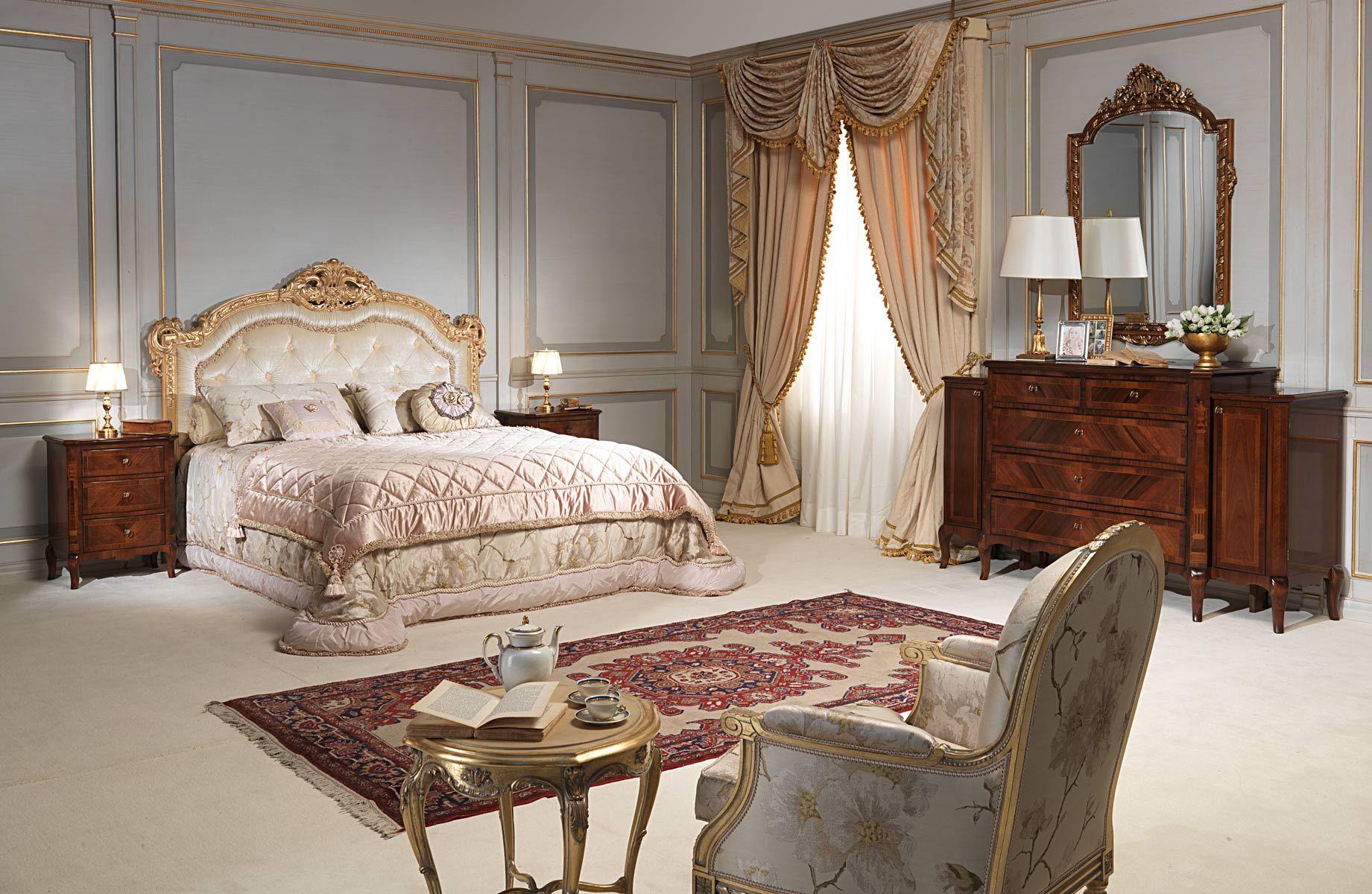 Luxus Schlafzimmer Möbel Sets Italienischen Stil ...