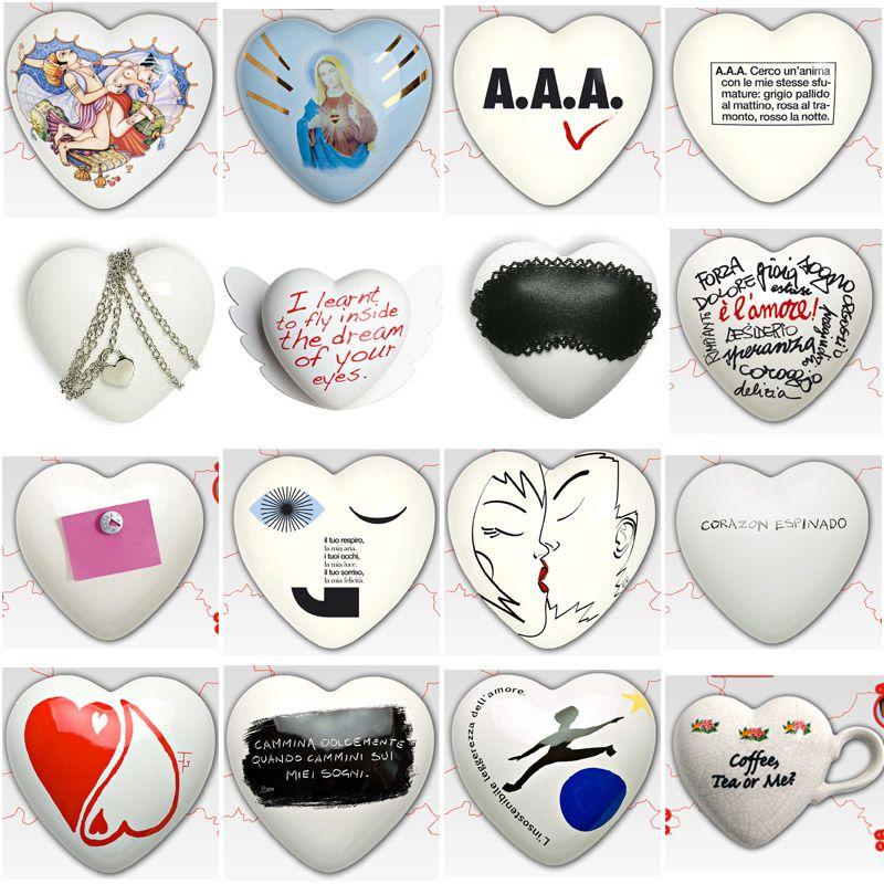 Have A Little Heart This Valentine's Day: Here's 64 by various designers and artists.