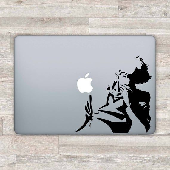 Cowboy Bebop MacBook Decal Anime MacBook Sticker Anime Decal | Etsy