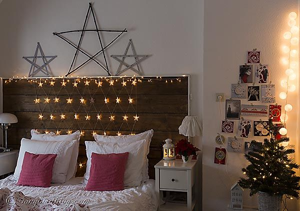 Starry, Starry Night, A Christmas Bedroom Decoration