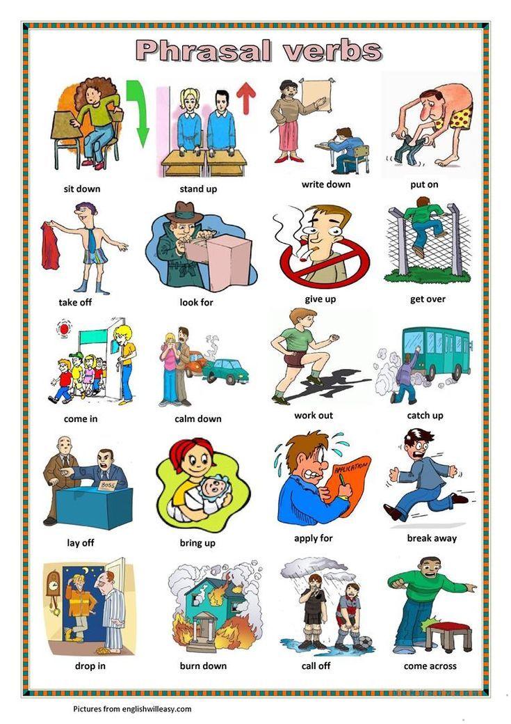 Phrasal Verbs 3 Worksheet Free Esl Printable Worksheets Made By Teachers Actividad Vocabulario En Ingles Descripcion En Ingles Juegos Para Aprender Ingles