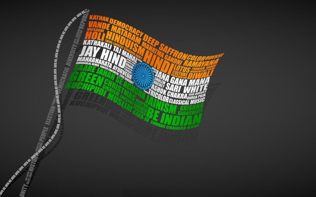 Happy Independence Day Flag Hd Wallpaper Free Download Pics