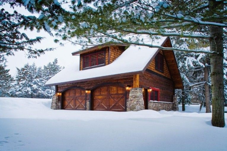 Shed Rustic design ideas for 2 Bedroom Garage Apartment ...