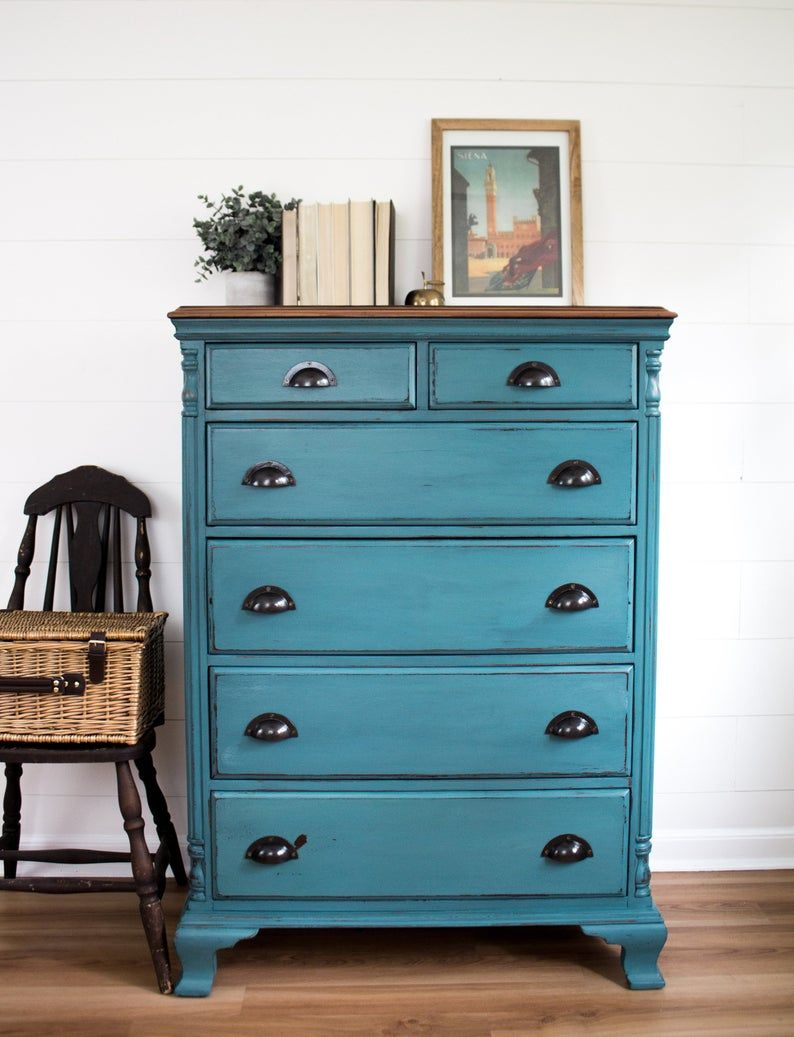 Pin by Cyaira Thompson on Room ideas in 2020 | Teal chest ...