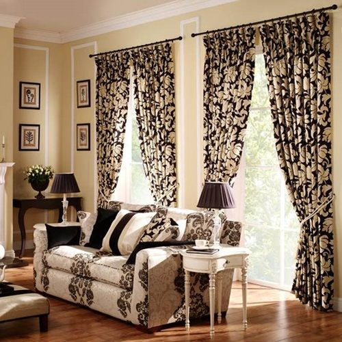 Curtains Designs For Living Room Fascinating Curtain Design Ideas Applicable To Your Living Room  Home Decor Design Ideas