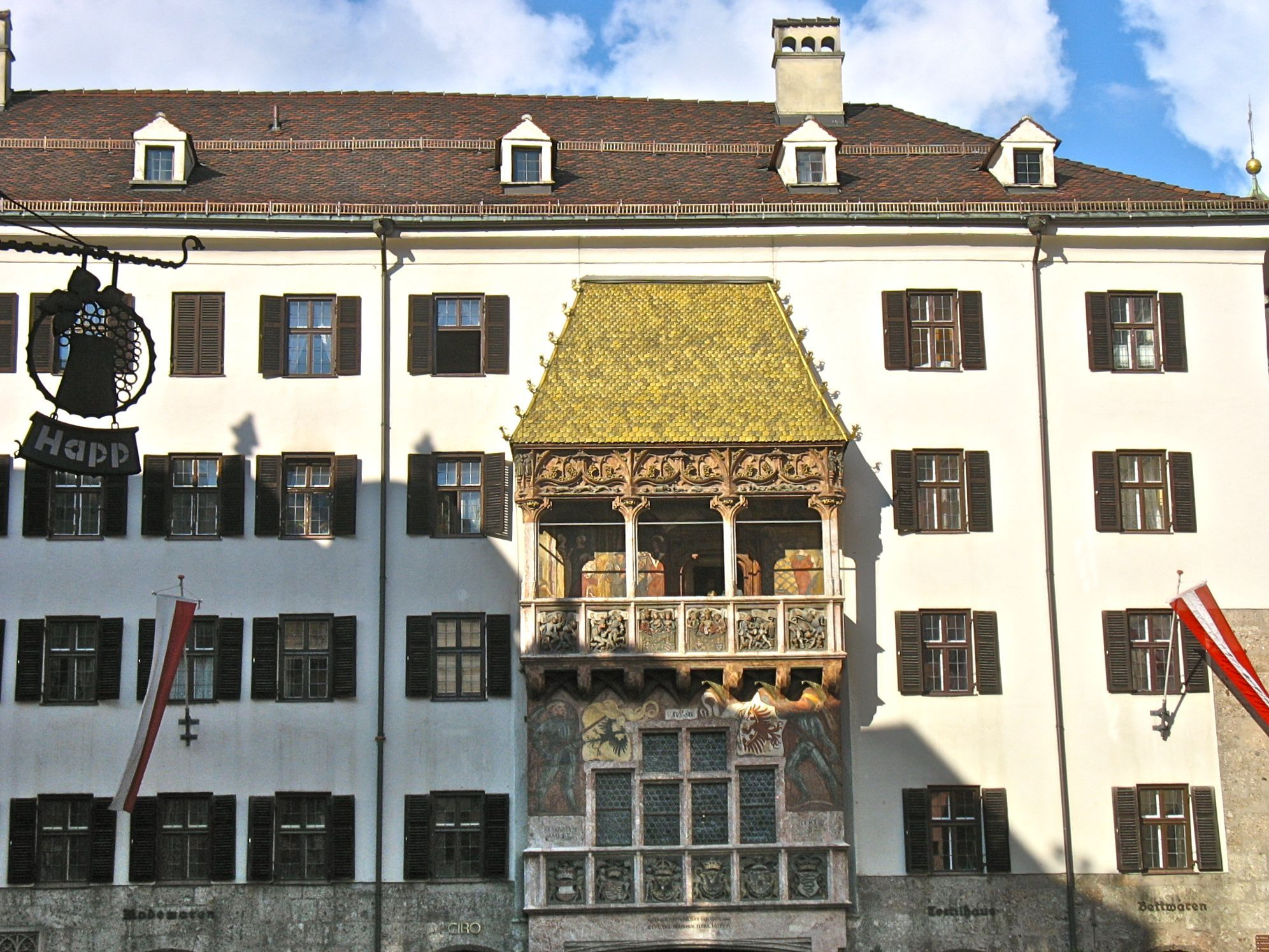 The Golden Roof In Innsbruck Austria Have Baggage