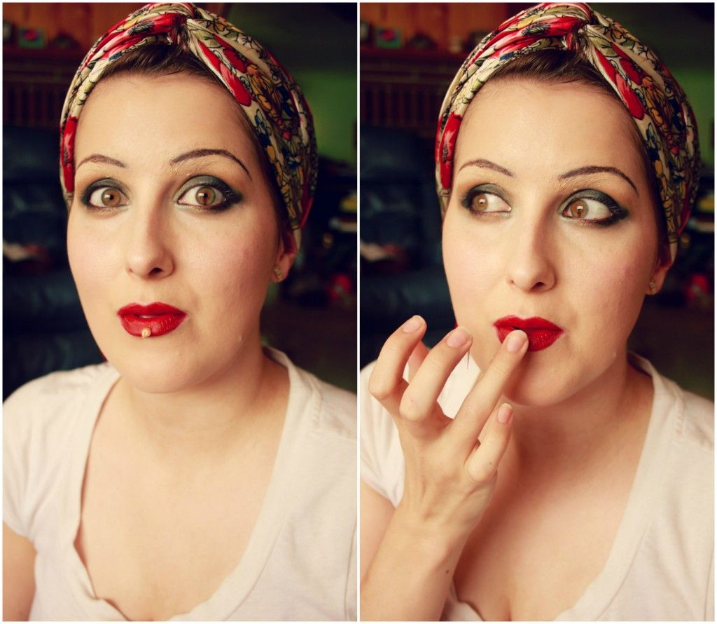 How to: Authentic 1920's Flapper Makeup (With images ...
