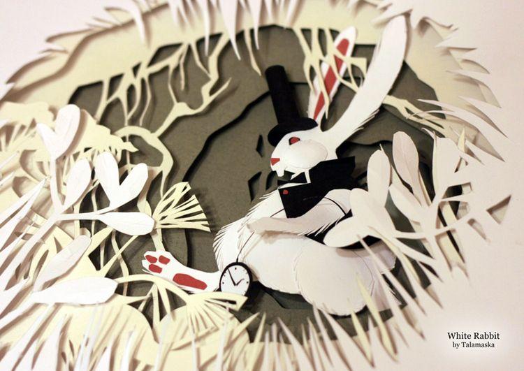 Сообщество иллюстраторов / Иллюстрации / Марина [Talamaska] / Белый кролик