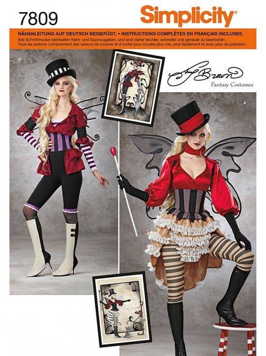 7809 Simplicity Schnittmuster Fantasy Kostüm | kostüm | Pinterest ...