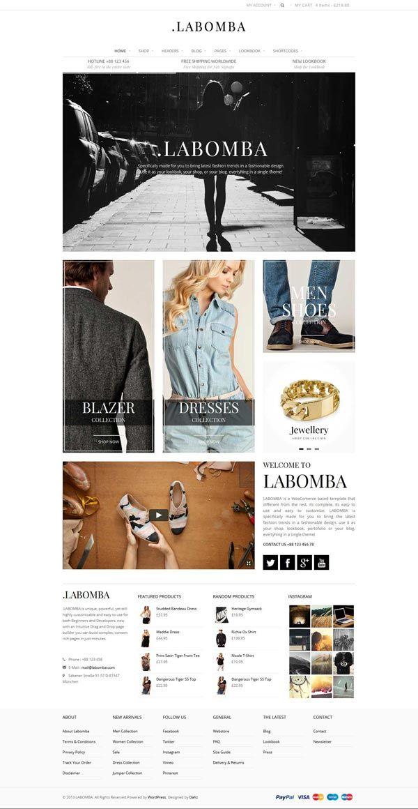 Labomba - WordPress Theme