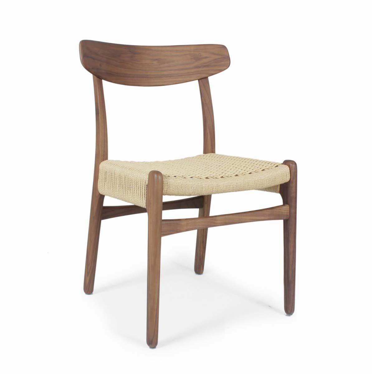 Hans Wegner Mid Century Modern Ch23 Dining Side Chair Wegner